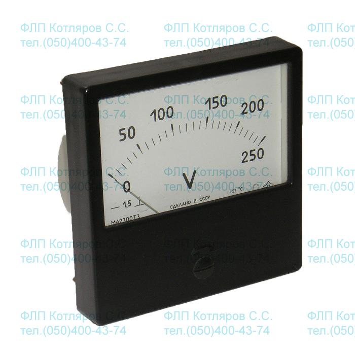 амперметр м42300 схема подключения